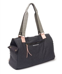 Cozy Dog Shoulder Bag Carrier Charcoal