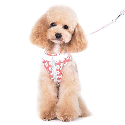 Easy Go Dog Harness Flower Bling