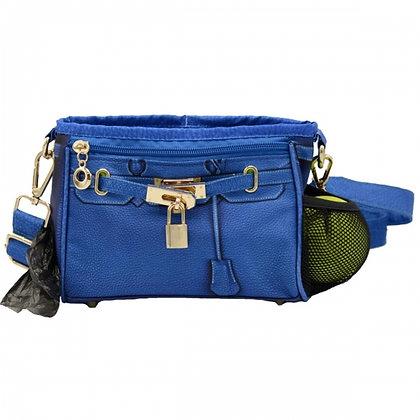 Bentley Training Bag/Dog Poop Bag Holder Cobalt