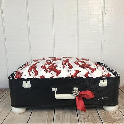 Suitcase Dog Bed Rock Lobster