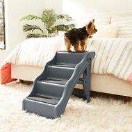 Frisco Foldable Non-Slip Pet Stairs Charcoal