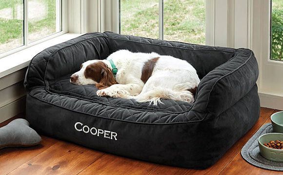 Orvis ComfortFill Dog Sofa Bed