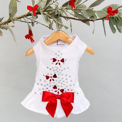 Holiday Sparkle Dog Dress