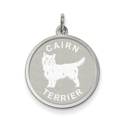 Cairn Terrier Pendant