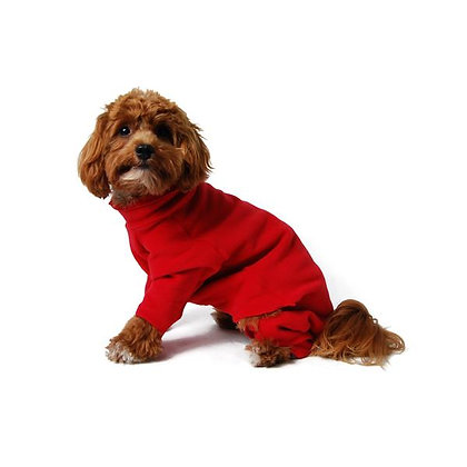 Stretch Fleece Dog Pajamas