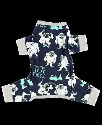 Yeti Dog Onesie Pajamas