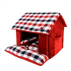 Beaufort House Dog Bed Wine