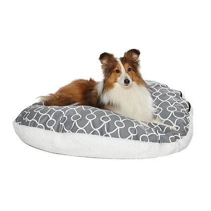 MidWest QuietTime Round Dog Pillow Bed