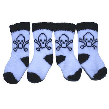 Skull Dog Socks