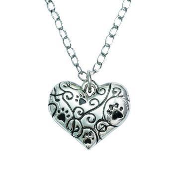 Best Friend Heart Necklace