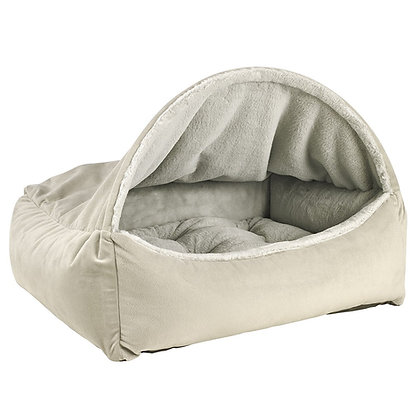 Cloud Dream Fur Canopy Dog Bed