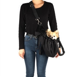 Cloudy Dog Carrier Black