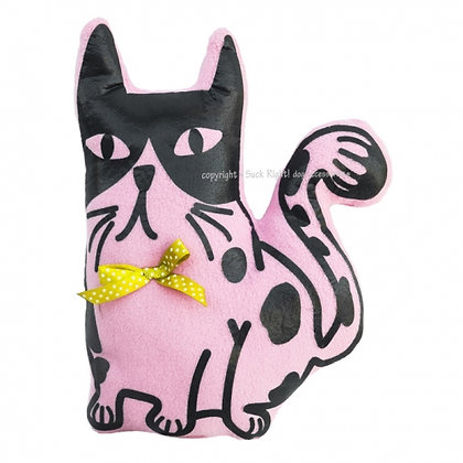 Pink Cat Dog Toy