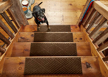 Recycled Water Trapper Stair Treads