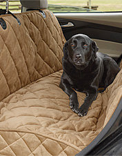 Grip-Tight Quilted Dog Hammock Seat Protector