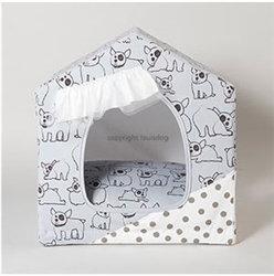 Louis Dog Organic Peekaboo Joli Dog Bed