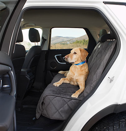 Grip-Tight Microfiber Dog Backseat Cover