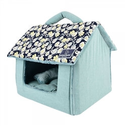 Zinnia House Pet Cave Bed Navy