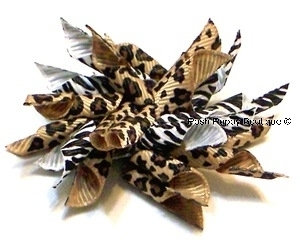 Jungle Whirlie Hair Bow
