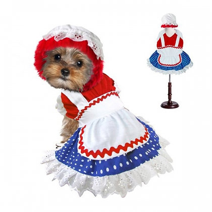 Ragdoll Girl Dog Costume