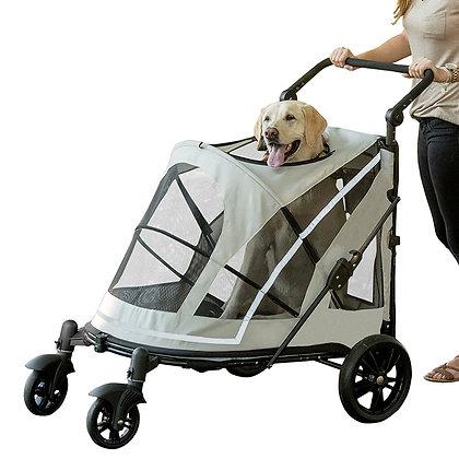 No-Zip Expedition Dog Stroller Fog