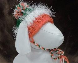 St. Patrick's Day Hand Knit Dog Hat