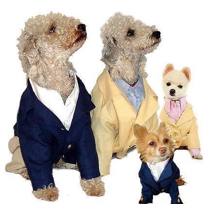 Linen Dog Blazer