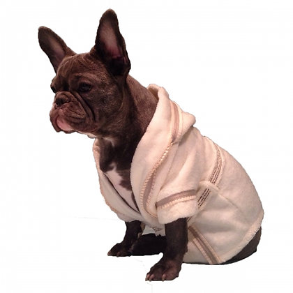 Prince Dog Bathrobe