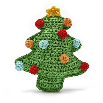 Pawer Squeaky Christmas Tree Dog Toy