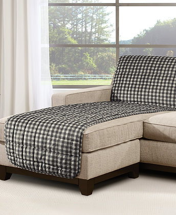 Sure Fit Velvet Deluxe Armless Slipcover Collection