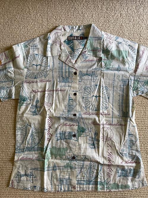 Rotary Shirt - Wayfinding Print