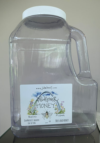 12 lbs gallon jug wildflower honey