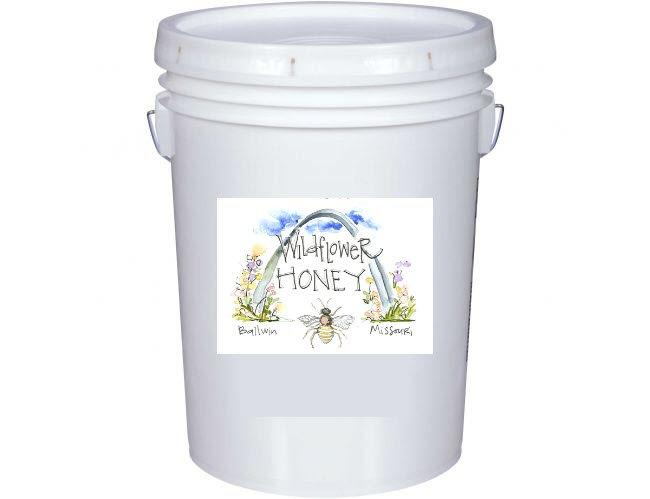 60 lb bucket - Wildflower honey