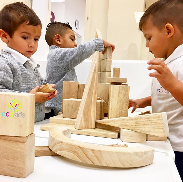 I Am EcoKids ~  BLOCKS🚧🚦⚠️ Did you know_ _Building with blocks provides one of the most valuable l