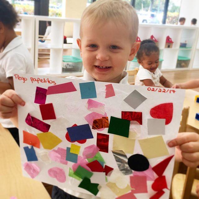 Creative Art Collage🎨 ~ _ecokidspreschools #kids #ecokids #imaecokids #art #collage #fun #colors #e