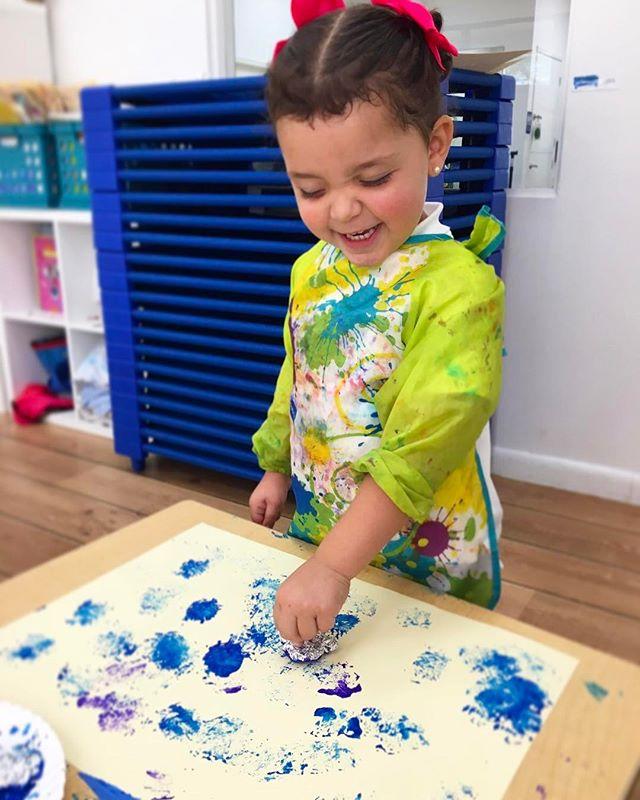 I AM ECOKIDS ~ _ecokidspreschools #art #kids #create #express #grow #braindevelopment #learning #eco
