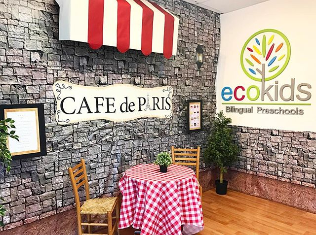 Bonjour 🇫🇷 ~ ☕️Cafe de Paris☕️~ EcoKids Summer Term 2017 ~ Theme_ _Around The World_ ~ Week_ Franc