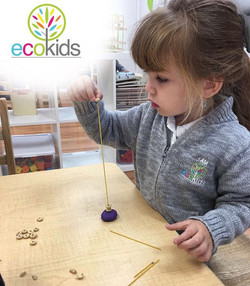 Developing Fine Motor Skills ~ EcoKids Bilingual Preschools ~ For More Information contact us at (95