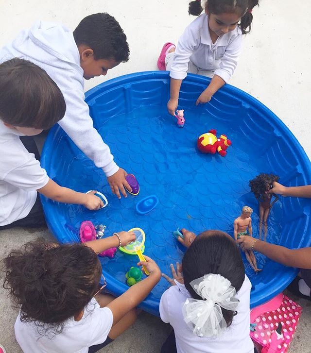 W Is For Water💦 ~ _ecokidspreschools #waterfun #play #sensory #activities #letters #vpk #classroom
