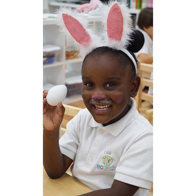EcoKids Happy Easter 2017 ~ Egg Hunt ~ _ecokidspreschools (954)344