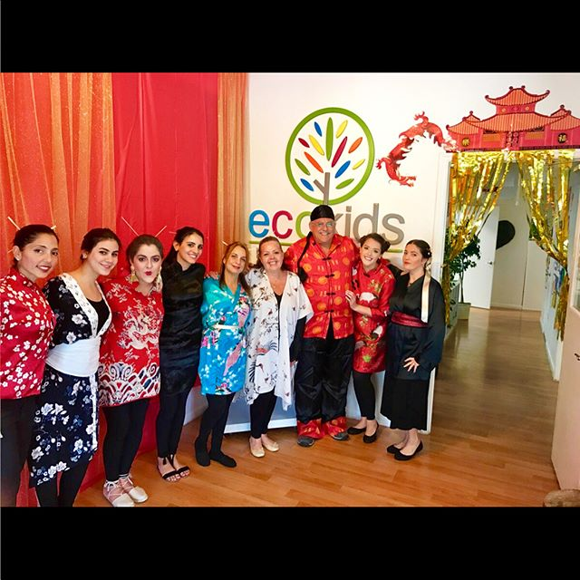 1st. ⓈⓉⓄⓅ --_ ᏟhᎥᏁᎪ ⛩ ~ Ecokids Bilingual Summer Term 2017 ~ _Around The World_ ~ (954)344.4220 ~ _e