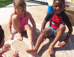 Bilingual Summer Camp Water Play