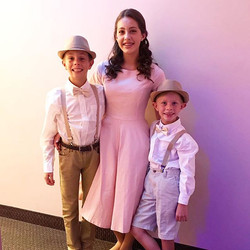 Von Trapp Children ~ The Sound Of Music ~ By_ _ecokidspreschools ~ End of Spring Term Show 2017 ~ Ca
