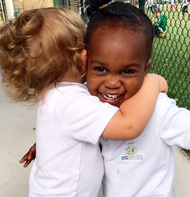 HUGS👫💞 ~ _ecokidspreschools _The nurturing touch of a hug builds trust and a sense of safety