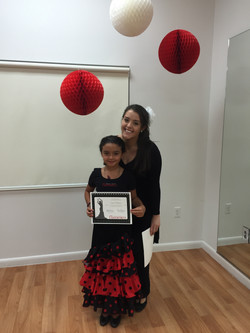 Certificate Ceremony Flamenco Kids