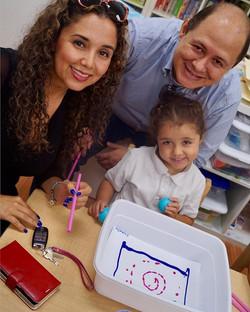 Family Day ~ Classroom_ D ~  Artist_ Jackson Pollock ~ Music_ Prokofiev ~ #familysharing #playing #p