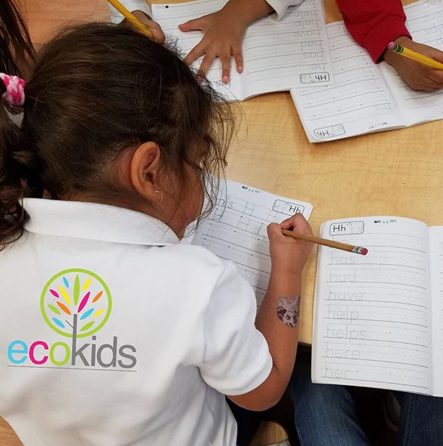 I AM EcoKids ~ _ecokidspreschools #learning #ecokids #fun #writting #letters #education #joinustoday