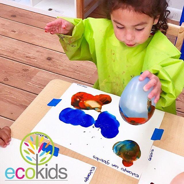 Creative Art 🎨 ~ I Am EcoKids ~ _ecokidspreschools ~ (954)344.4220 ~ www.ecokidsbilingualpreschools