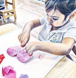 EcoKids Art College 🎨 ~ #express #learn #imagine #create #iamecokids #kids #children #education #ar