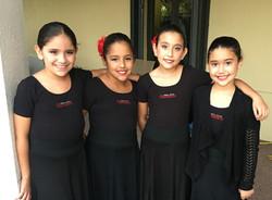 Flamenco Kids Rehearsal